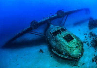 Epaves en plongée à Tahiti avec Topdive