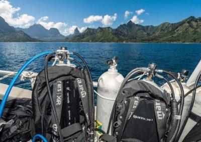 Plongée au Nitrox à Moorea avec Topdive Polynésie